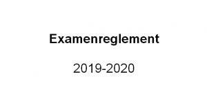 Examenreglement 2019-2020