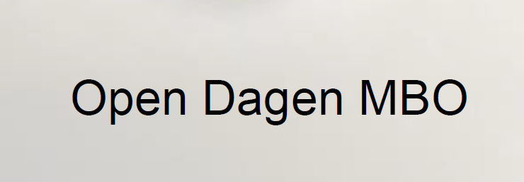 Open Dagen MBO 2019-2020