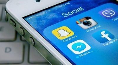 Social media gedrag