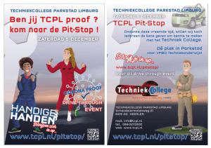 zaterdag 5 december TCPL Pit-Stop