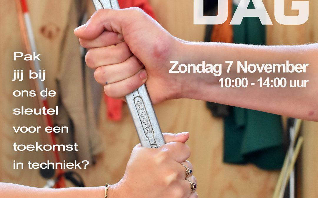 Zondag 7 November – OPEN DAG