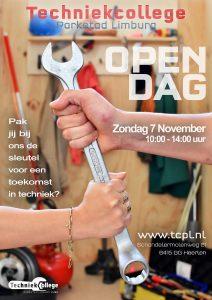 Zondag 7 November - OPEN DAG